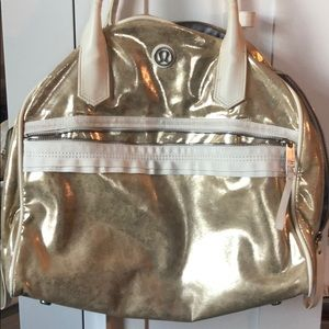 Lululemon Gold Bag